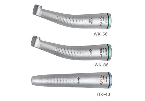 Contrangolo e manipolo dentale W&H Synea Vision WK-66-86 e HK-43