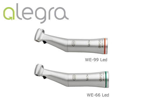 Manipoli dentali W&H Alegra WE-99 WE-66 Led