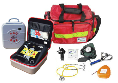 Defibrillatore Life bag Kit