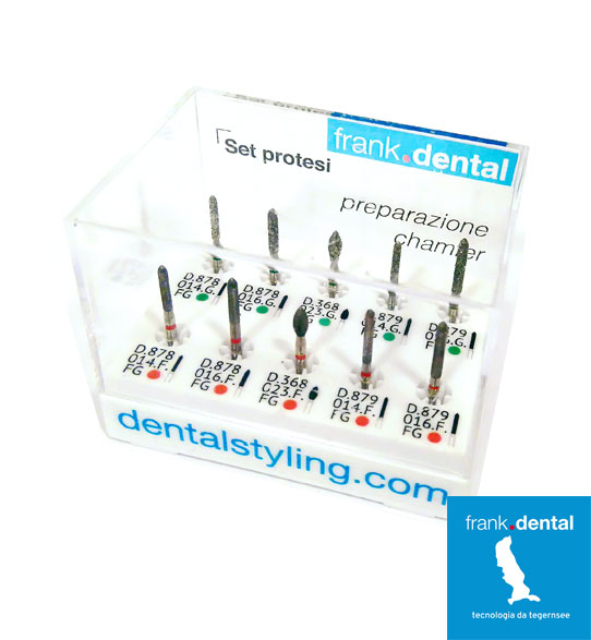 chamfer dental burs
