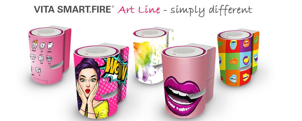 Forni VITA Smart Fire - Art line